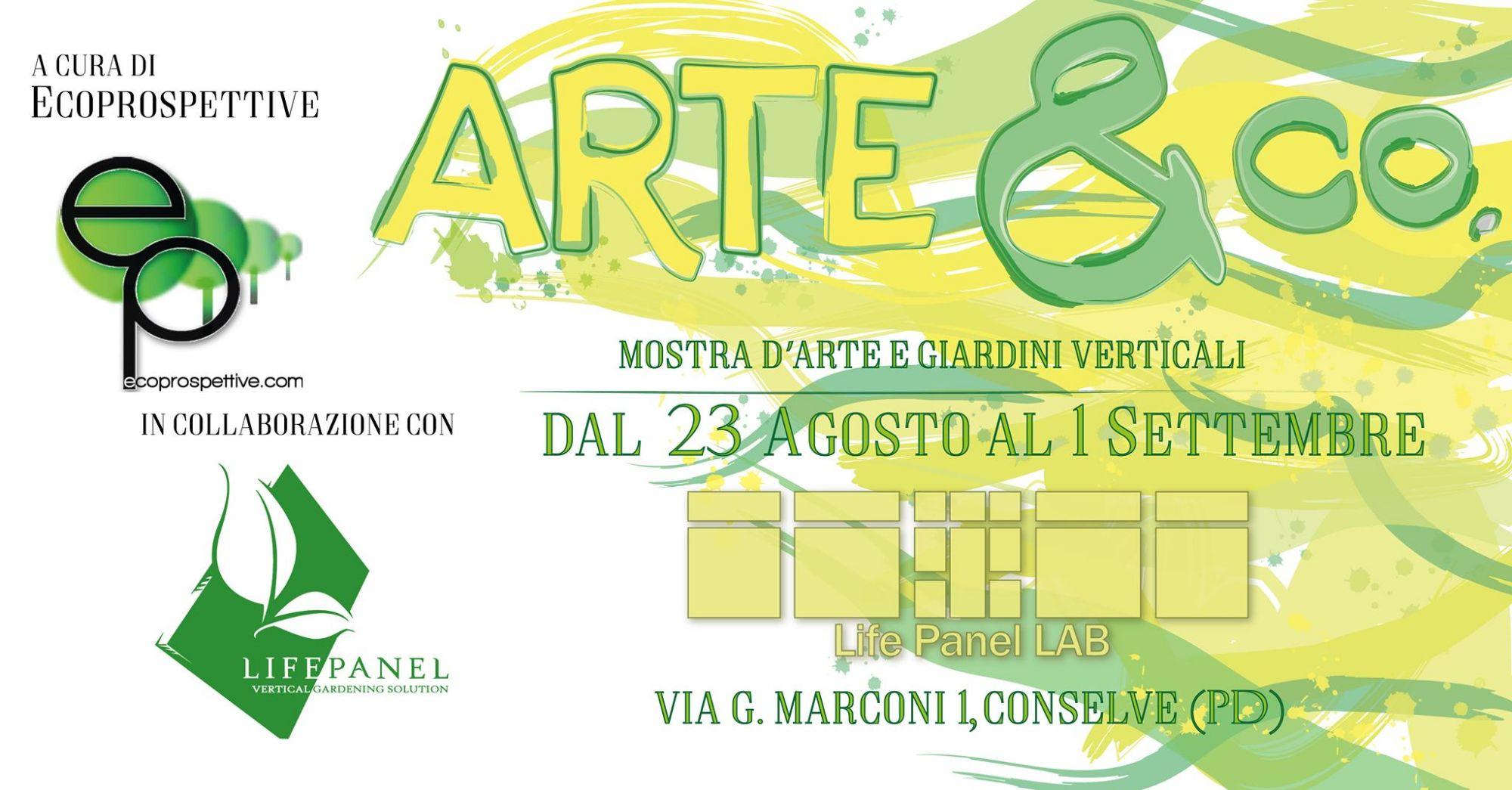 ARTE & co. - Mostra d'Arte e Giardini Verticali